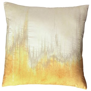 Signature Design by Ashley Pillows Madalene Yellow Pillow