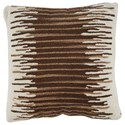 Signature Design by Ashley Pillows Wycombe Cream/Brown Pillow - Item Number: A1000796P