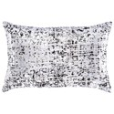 Signature Design by Ashley Pillows Linda Black/Silver Pillow - Item Number: A1000800P