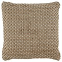 Signature Design by Ashley Pillows Matilde Natural Pillow - Item Number: A1000803P