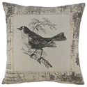 Signature Design by Ashley Pillows Monissa Black/Cream Pillow - Item Number: A1000812P