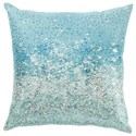 Signature Design by Ashley Pillows Meilani Blue Pillow - Item Number: A1000814P