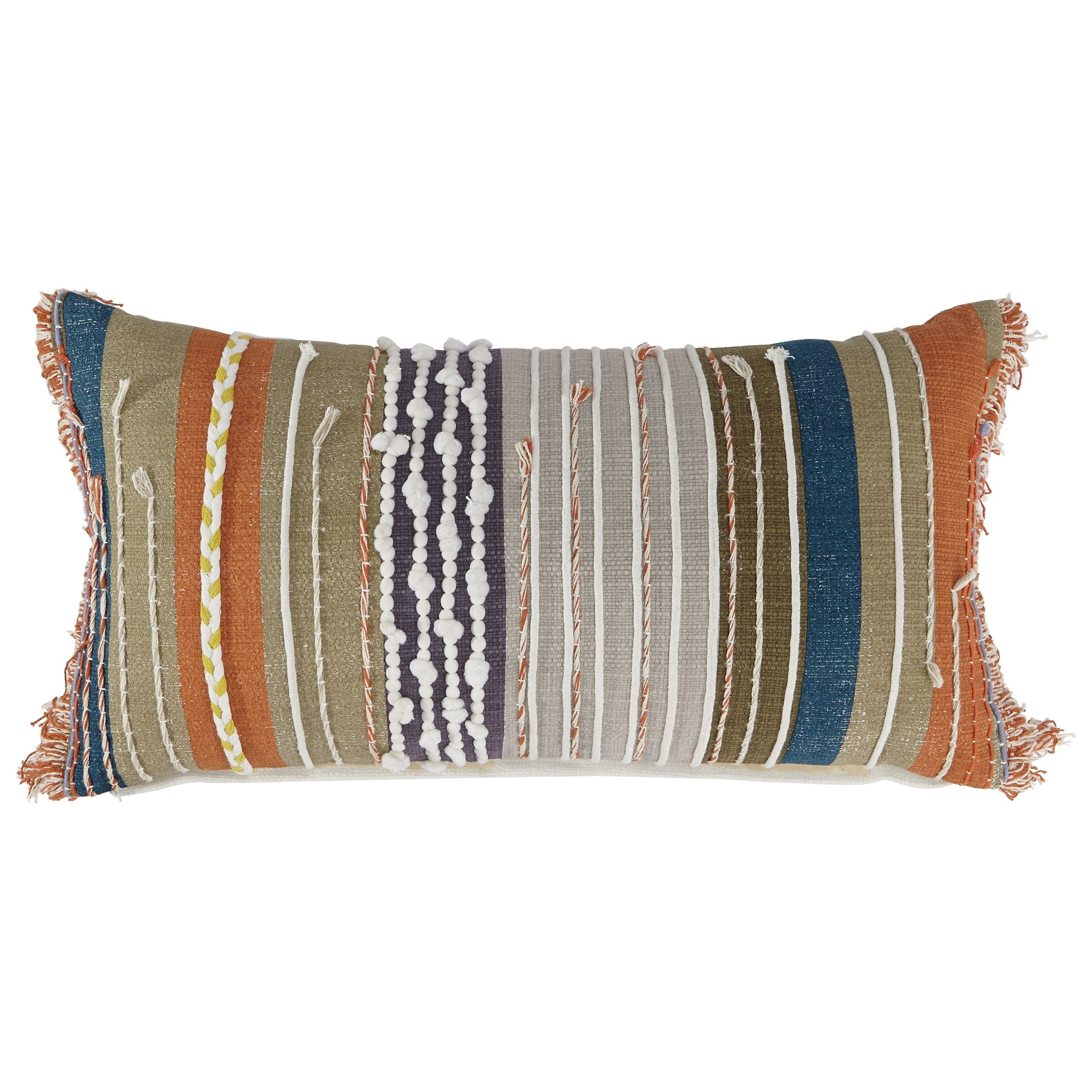 Signature Design by Ashley Pillows Dereon Multicolor Boho Pillow - Item Number: A1000817P