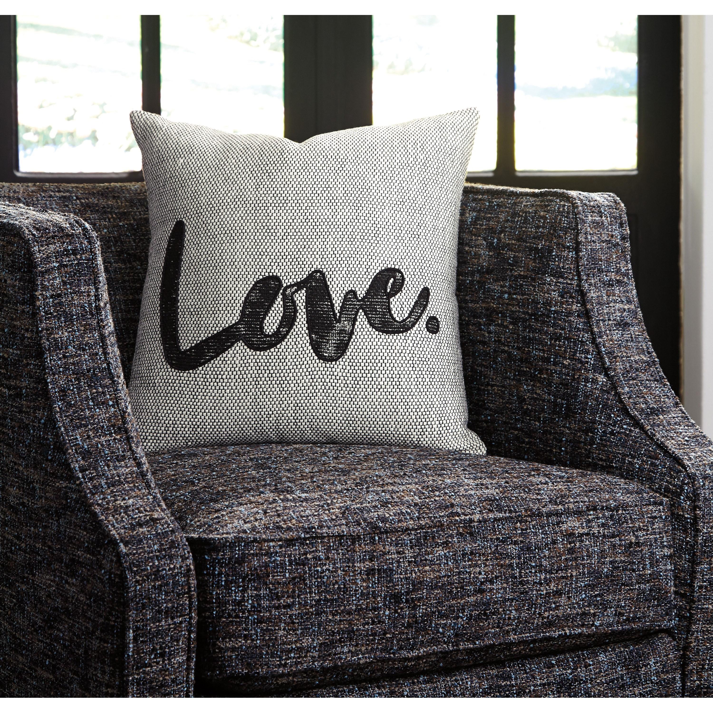 Ashley Signature Design Pillows A1000819P Mattia White