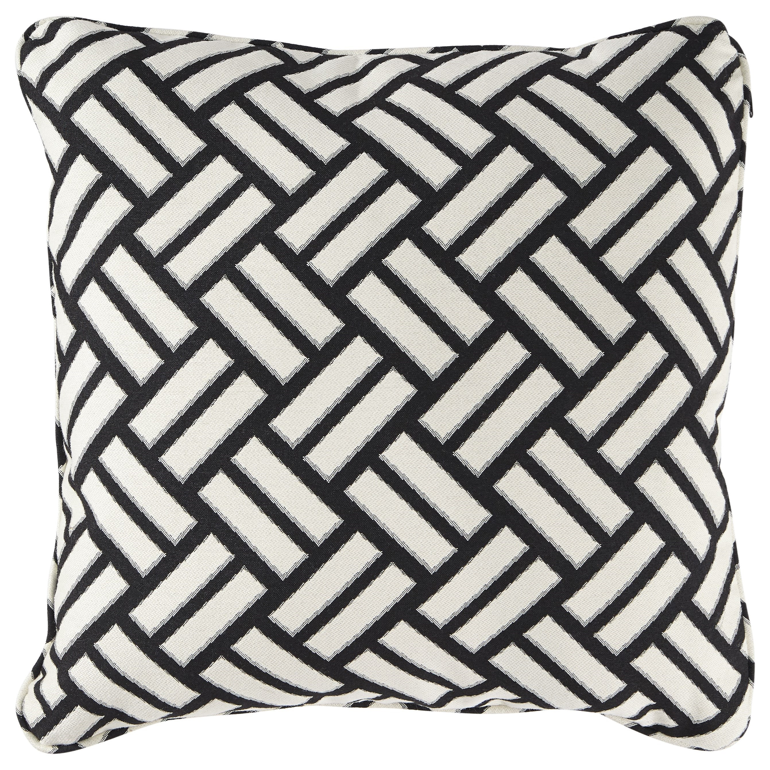 Pillows Ayres Black/White Pillow by Signature Design by Ashley at Value City Furniture
