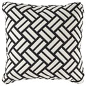 Signature Design by Ashley Pillows Ayres Black/White Pillow - Item Number: A1000833P