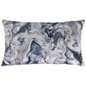 Signature Design by Ashley Pillows Carissa Gray/Blue Pillow - Item Number: A1000851P