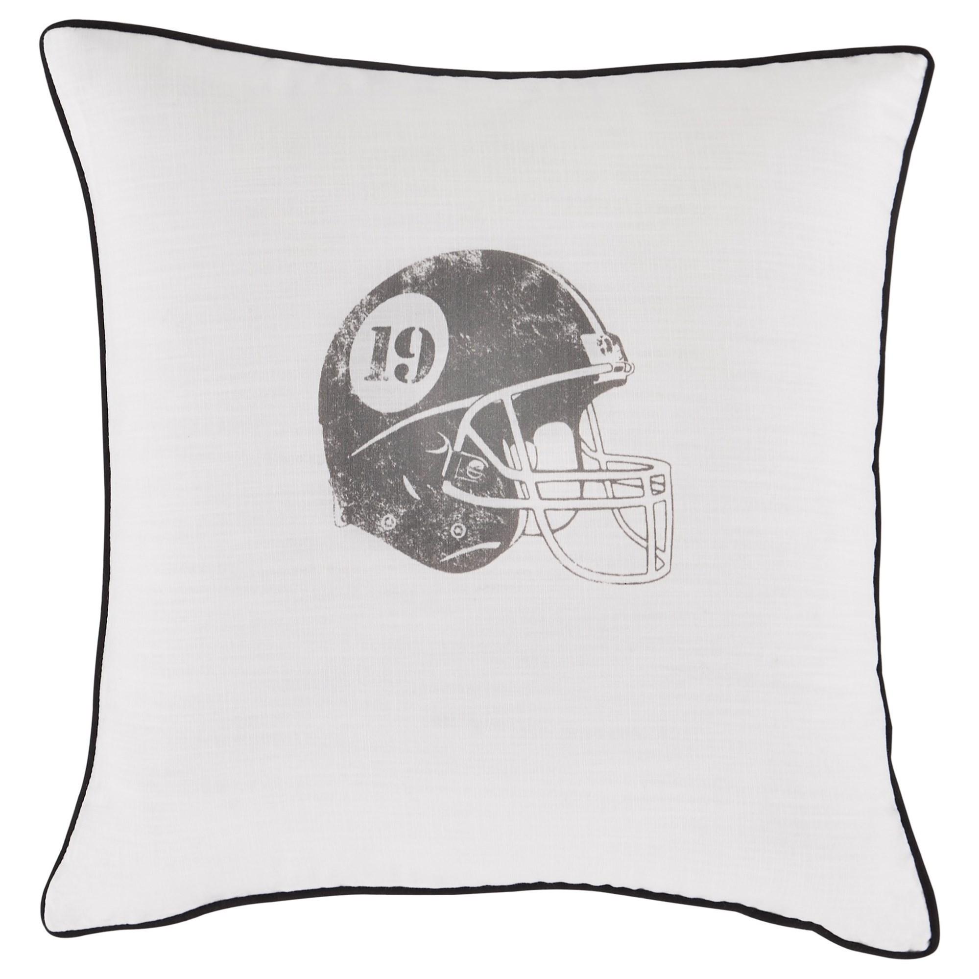 Waman Charcoal Pillow