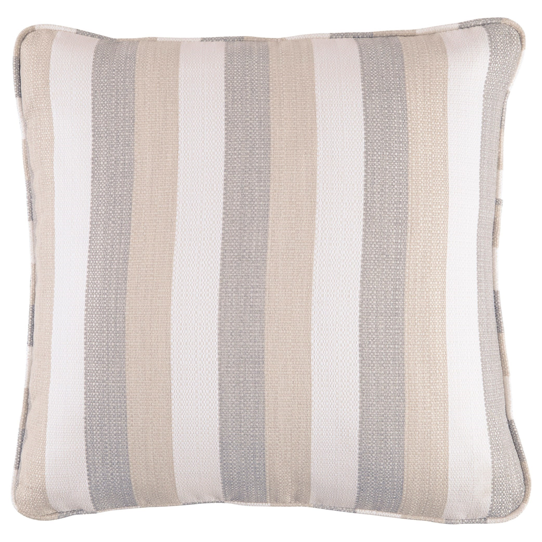 Mistelee Tan/Cream/Gray Pillow