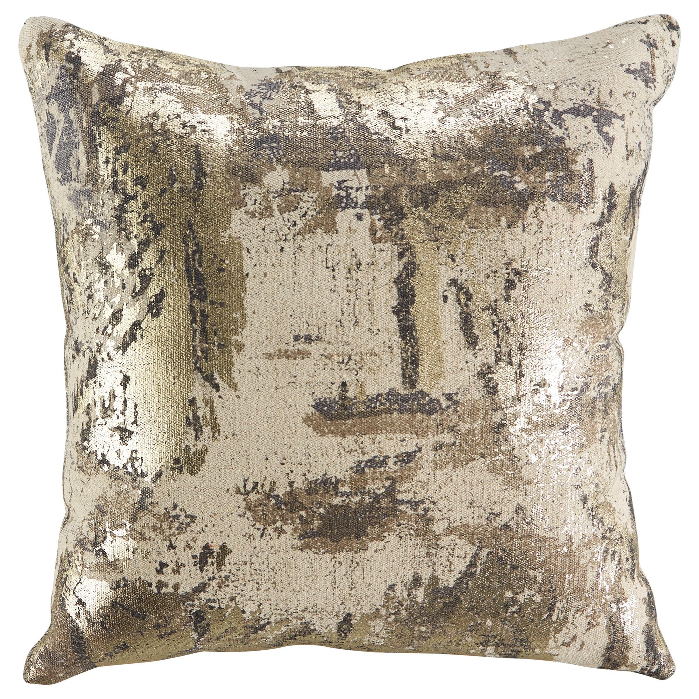 Esben Natural/Gray/Taupe Pillow