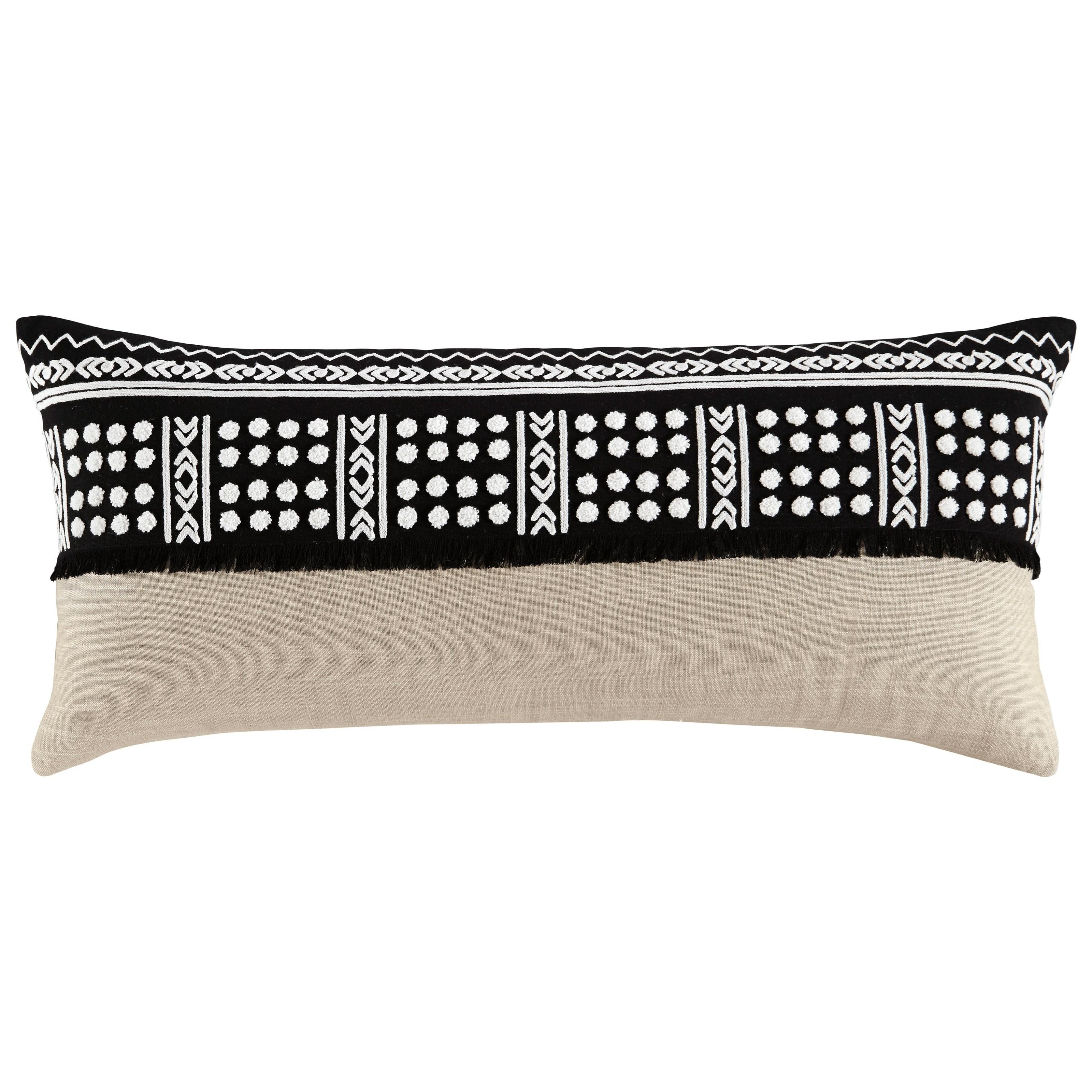 Mateja Black/Natural Pillow