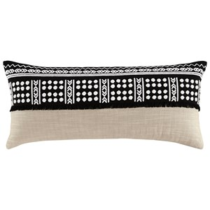 Mateja Black/Natural Pillow