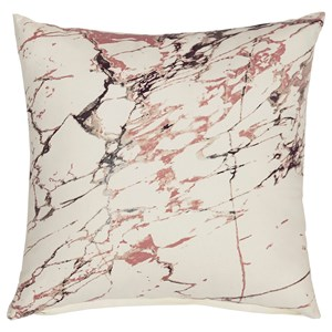 Mikiesha Metallic Foil Pillow