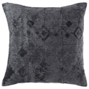 Signature Design by Ashley Pillows Oatman Slate Blue Pillow - Item Number: A1000920P