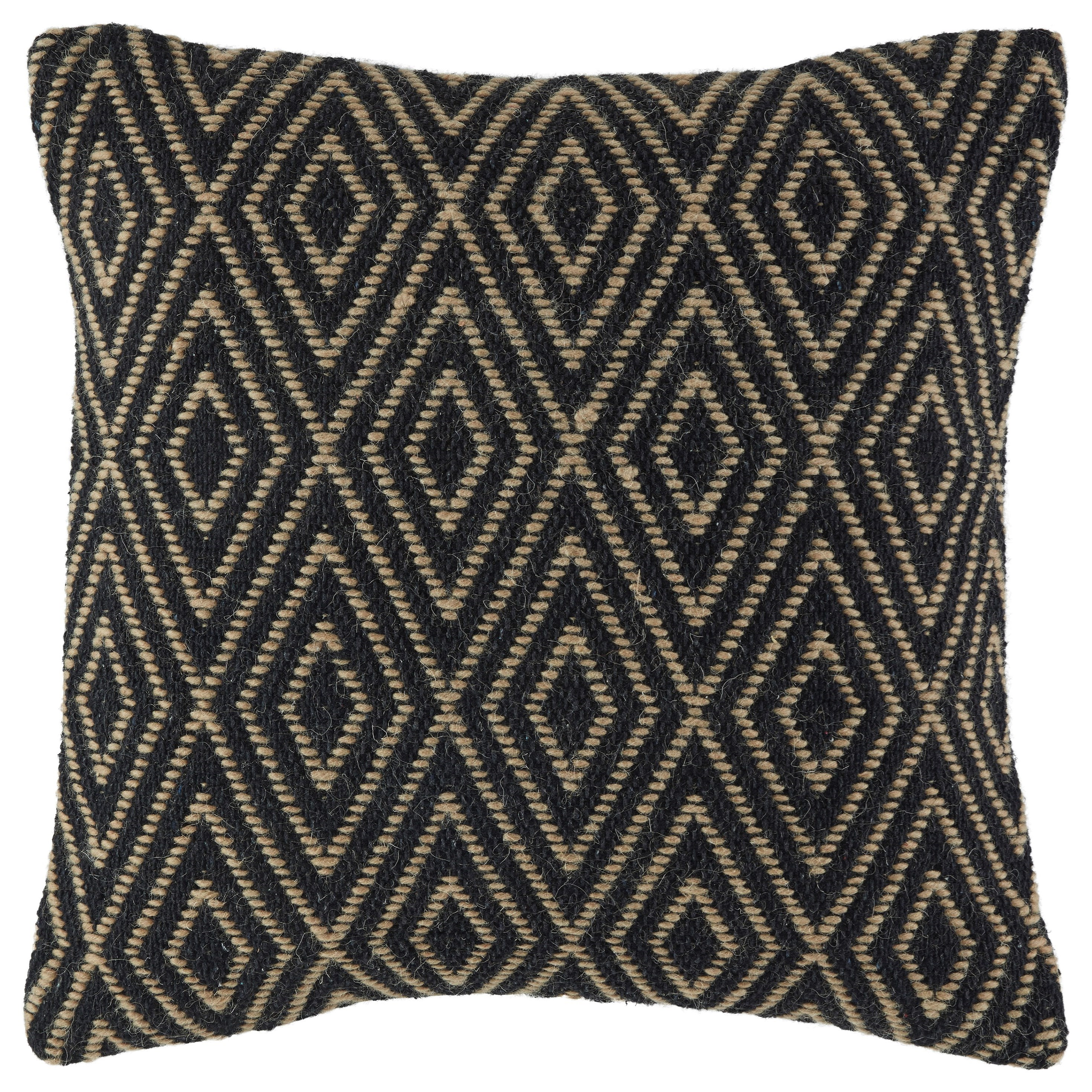 Signature Design by Ashley Pillows Mitt Black/Tan Pillow | Rife's