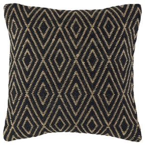 Mitt Black/Tan Pillow