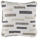 Signature Design by Ashley Pillows Crockett Black/Brown/Cream Pillow - Item Number: A1000943P