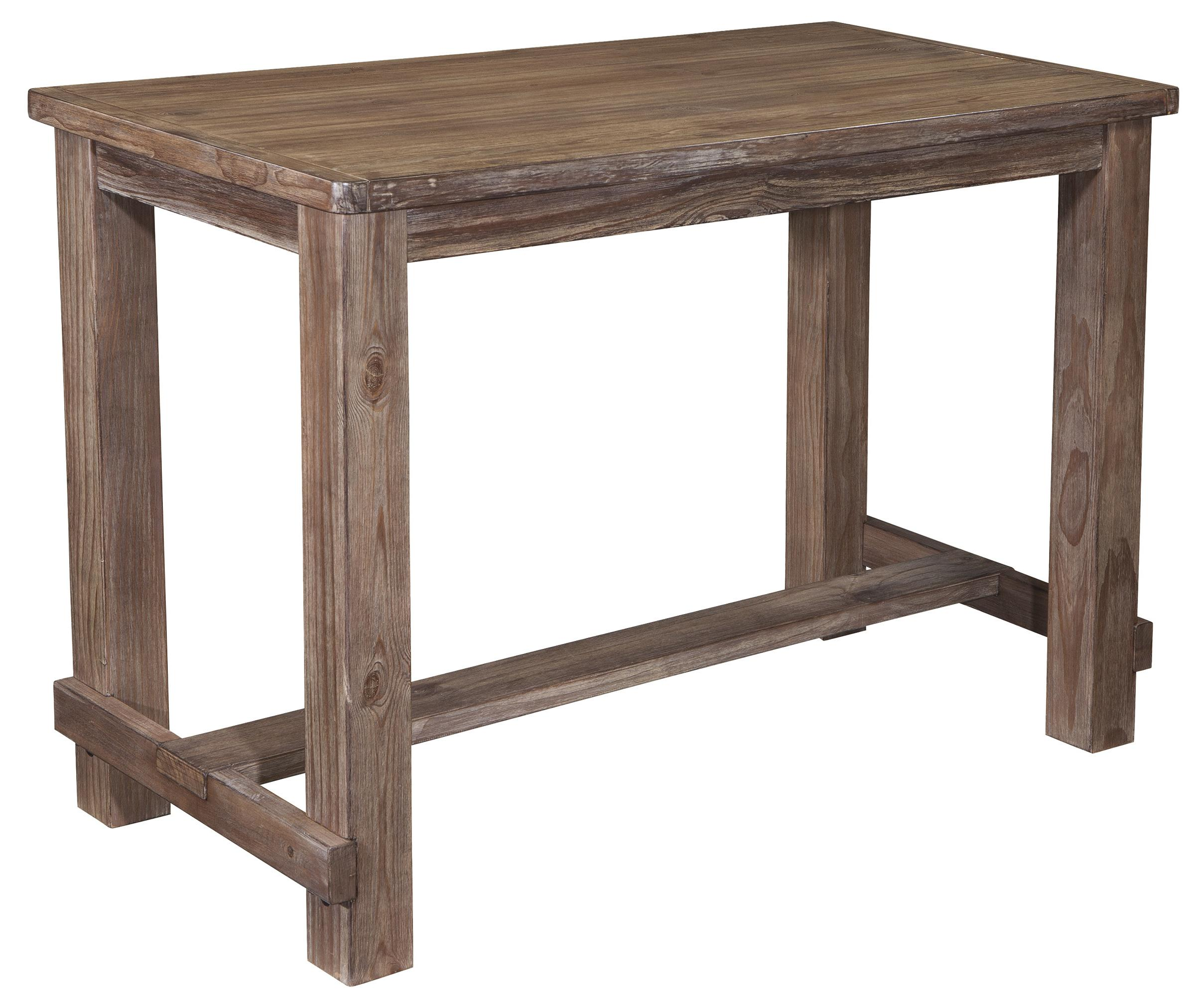 Benchcraft Pinnadel 5 Piece Bar Table Set With Upholstered