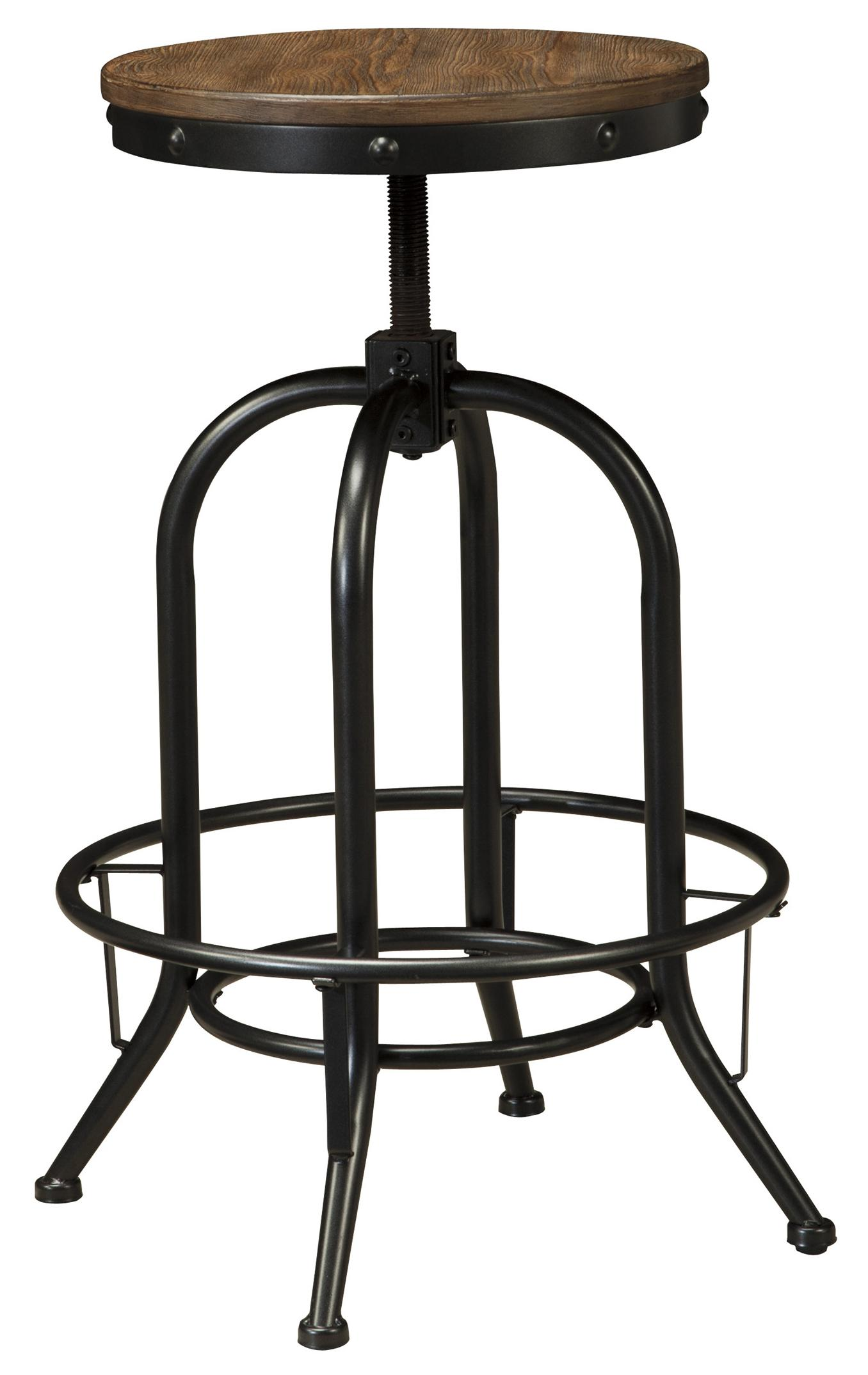 Signature Design By Ashley Pinnadel Tall Swivel Stool With