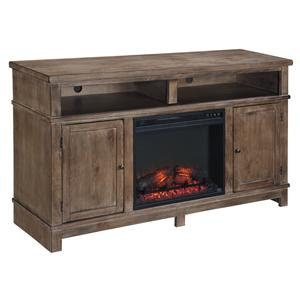 Ashley (Signature Design) Pinnadel Large TV Stand with Fireplace Insert