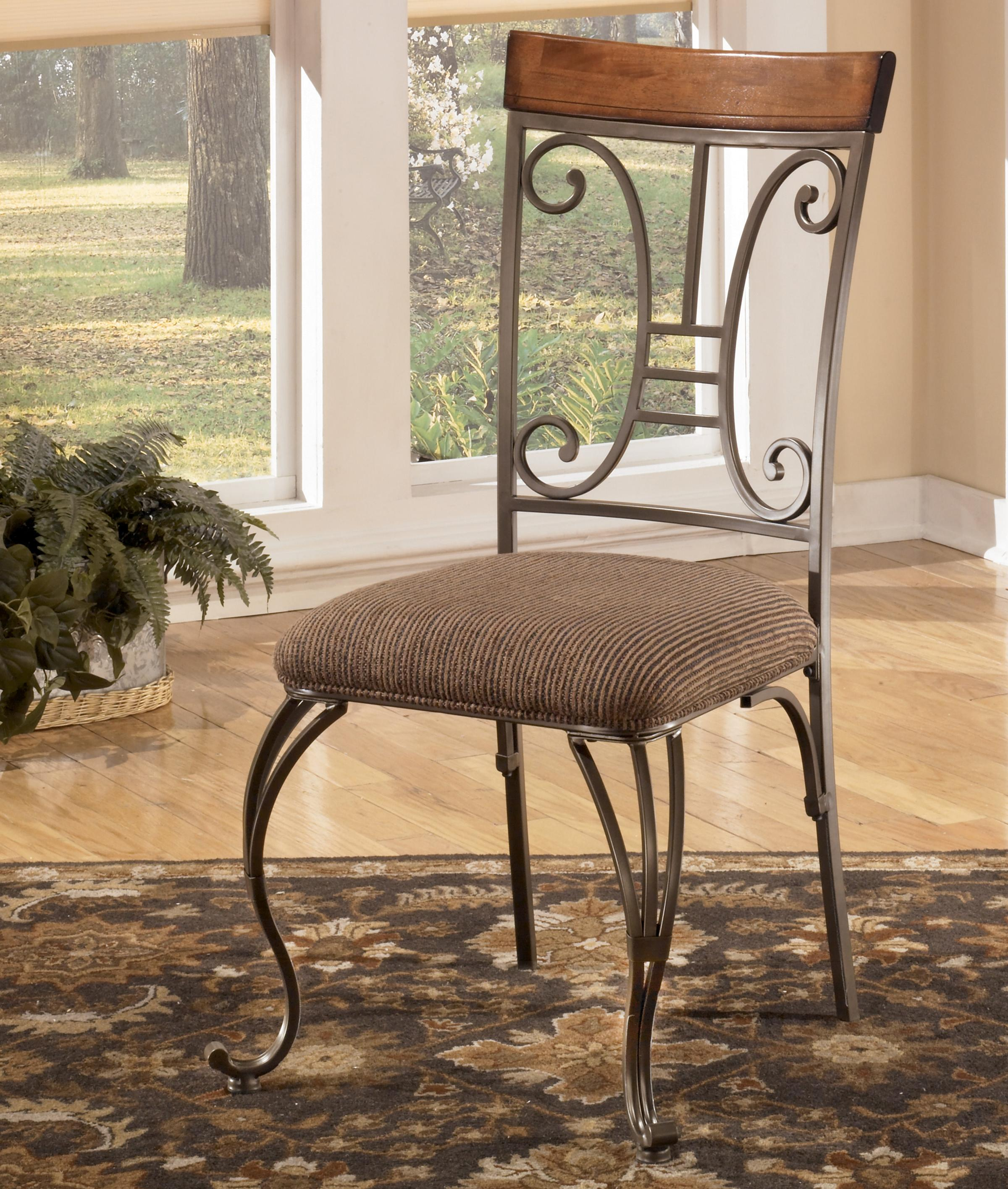 Signature Design by Ashley Plentywood Dining Upholstered Side Chair - Item Number: D313-01
