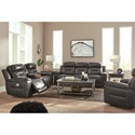 Signature Design by Ashley Pomellato Reclining Living Room Group - Item Number: U50101 Living Room Group 2