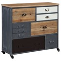 Signature Design by Ashley Ponder Ridge Accent Cabinet - Item Number: A4000015