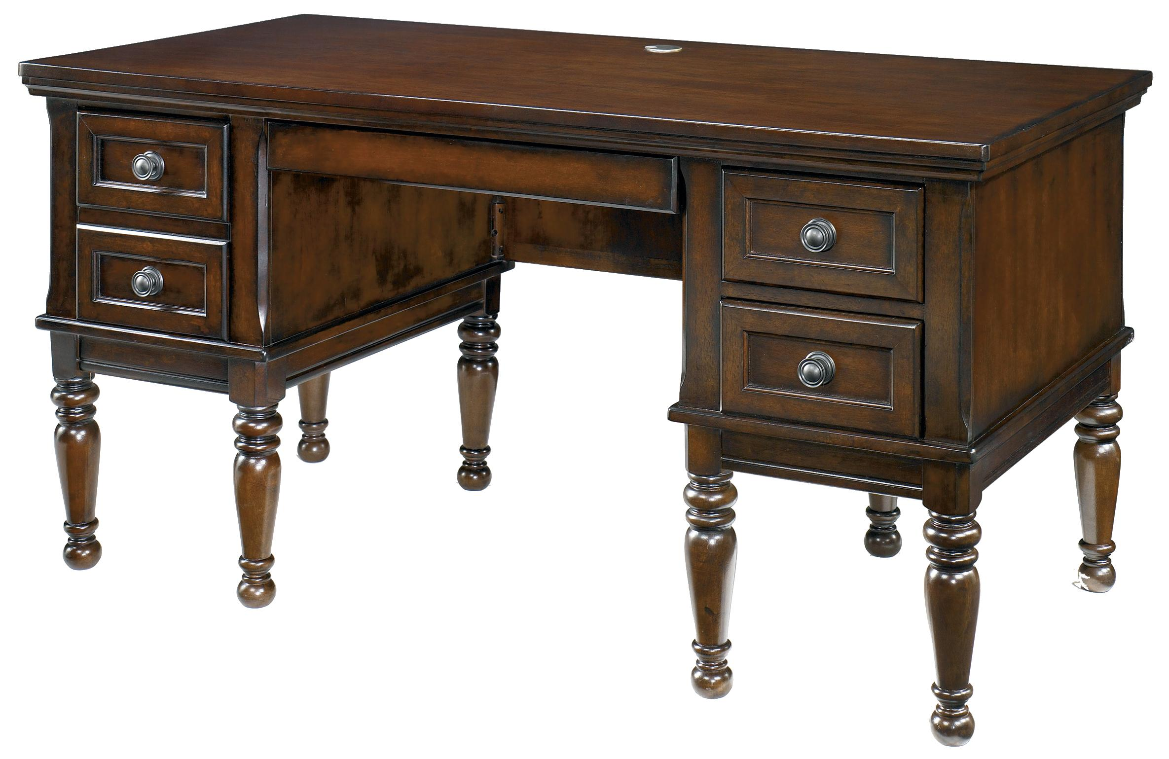 Signature Design by Ashley Porter Storage Leg Desk - Item Number: H697-26