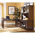Signature Design by Ashley Porter L-Shape Desk w/ Large Leg Desk & Large Hutch - Item Number: H697-44+47+46+49