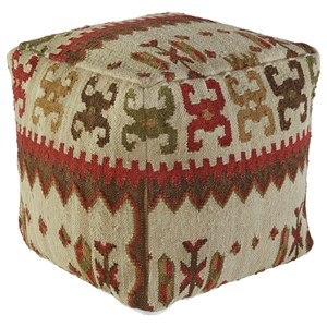 Signature Design by Ashley Poufs Aarav - Multi Pouf