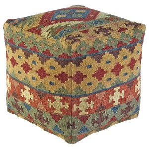 Signature Design by Ashley Poufs Adolfo - Multi Pouf