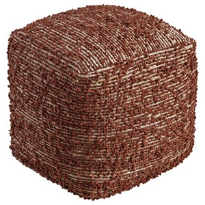 Signature Design by Ashley Poufs Darita - Brown Pouf