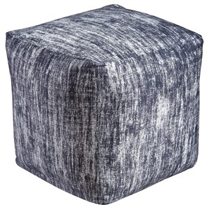 Signature Design by Ashley Poufs Darion - Black Pouf