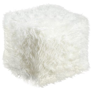 Signature Design by Ashley Poufs Himena - White Pouf