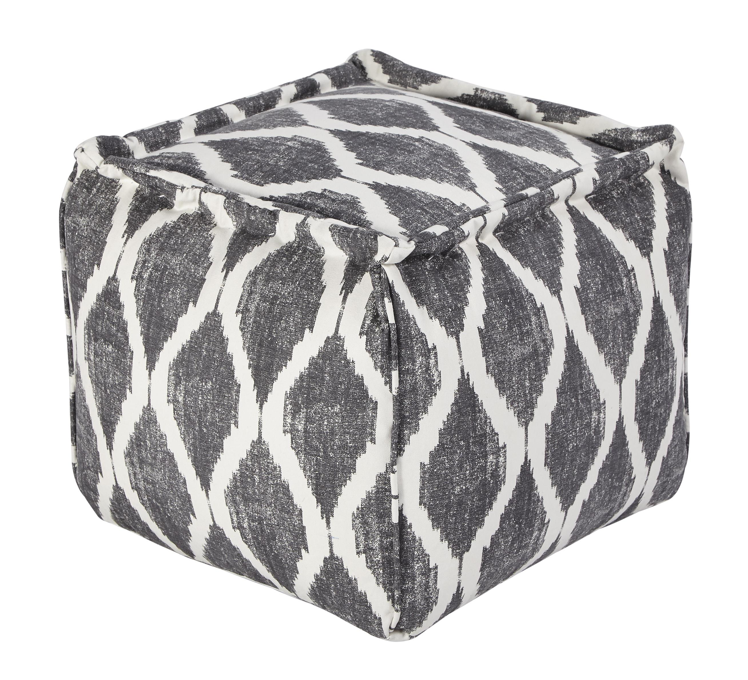 Signature Design by Ashley Poufs Bruce - Gray/White - Item Number: A1000546