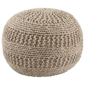 Signature Design by Ashley Poufs Benedict - Natural Pouf