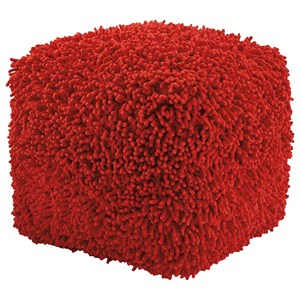 Signature Design by Ashley Poufs Taisce - Red Pouf