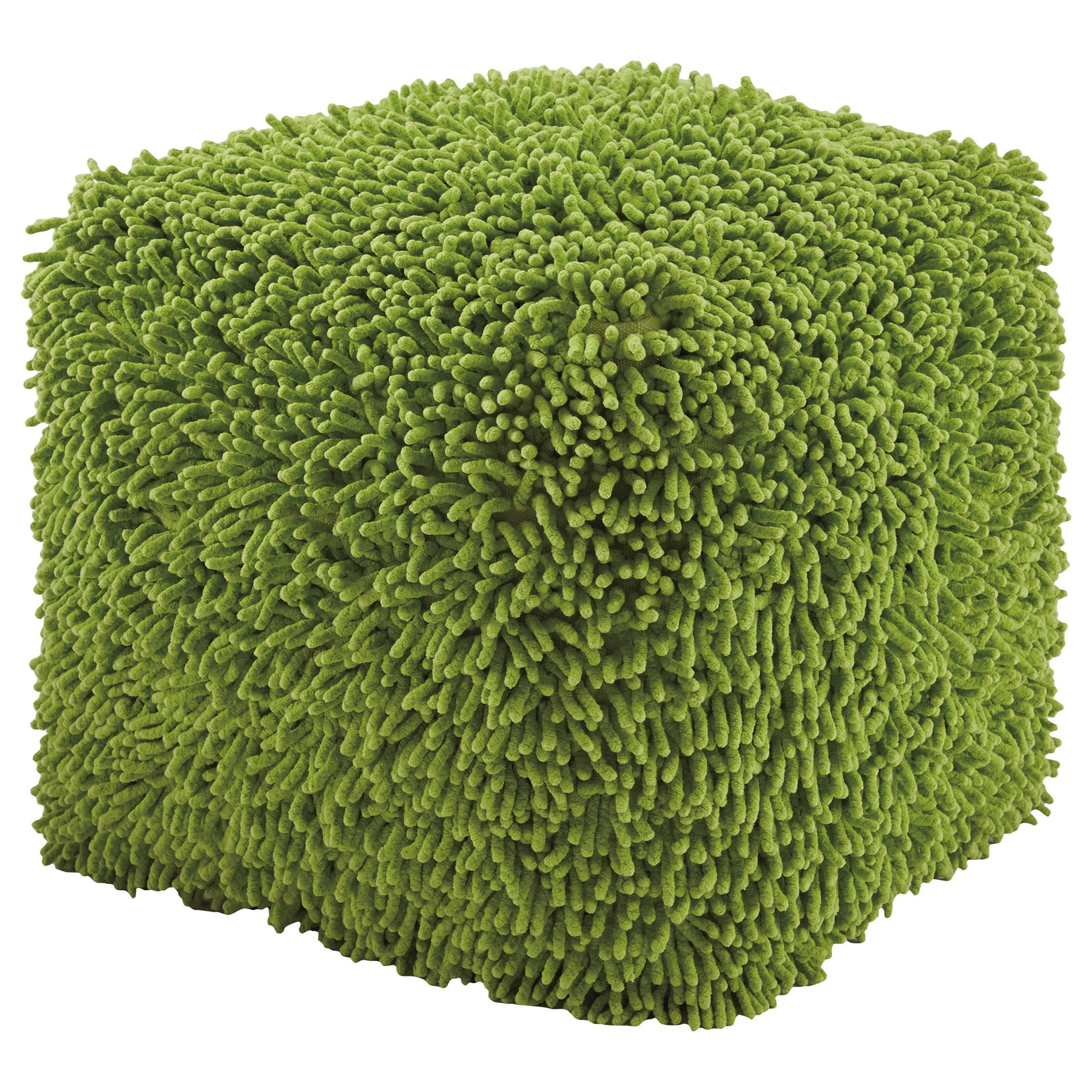 Signature Design by Ashley Poufs Taisce - Green Pouf - Item Number: A1000563