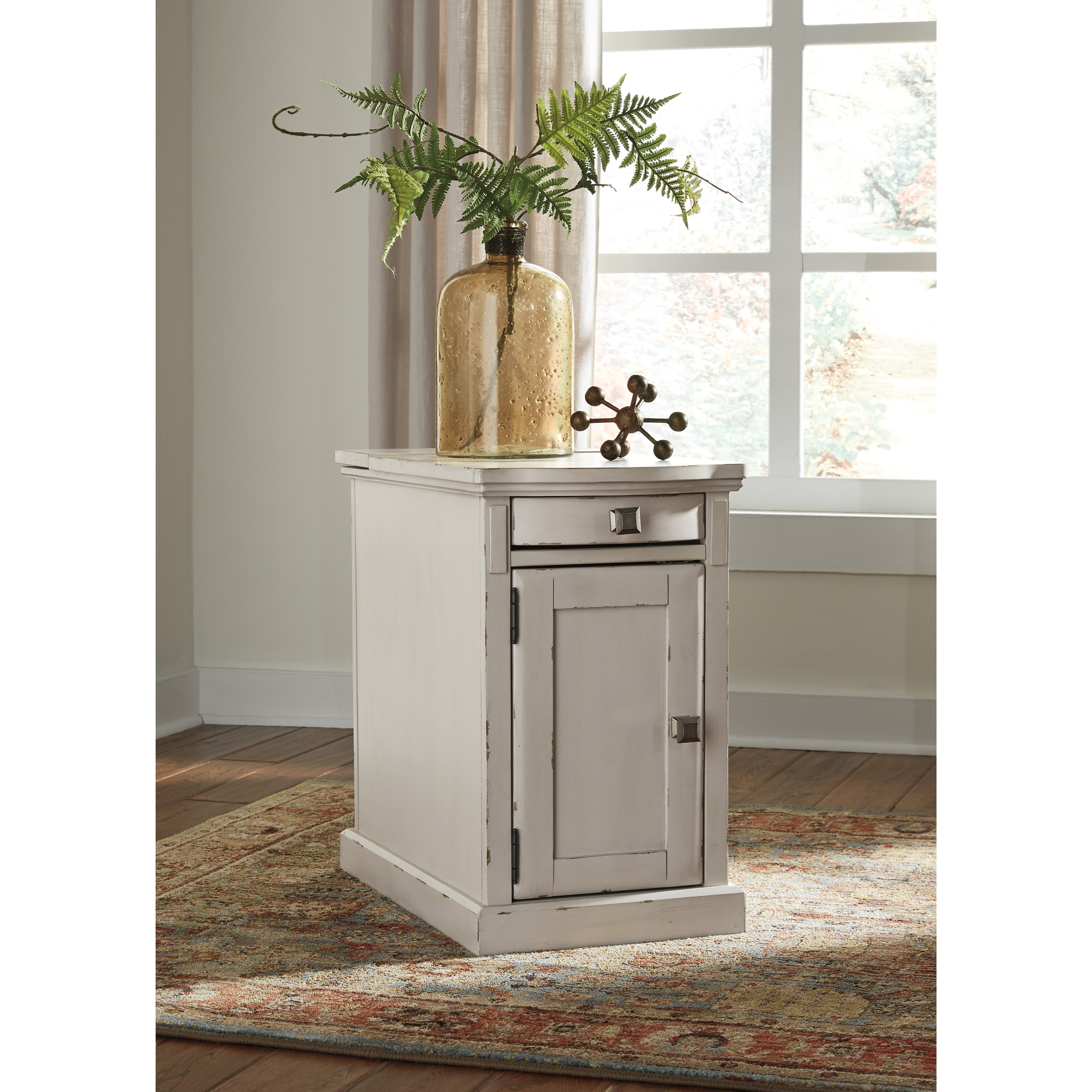 Signature Design By Ashley Laflorn Chairside End Table