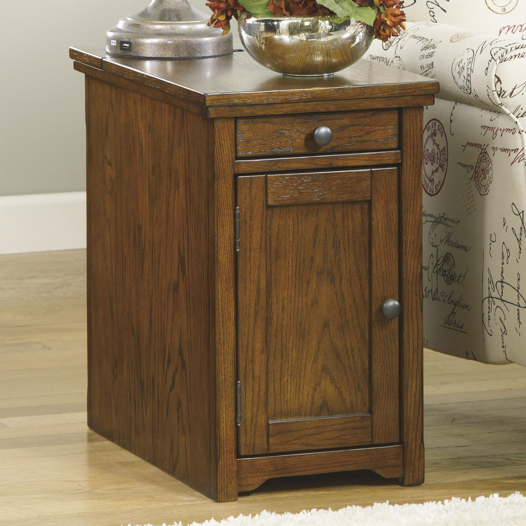 Signature Design by Ashley Laflorn Chair Side End Table - Item Number: T127-699