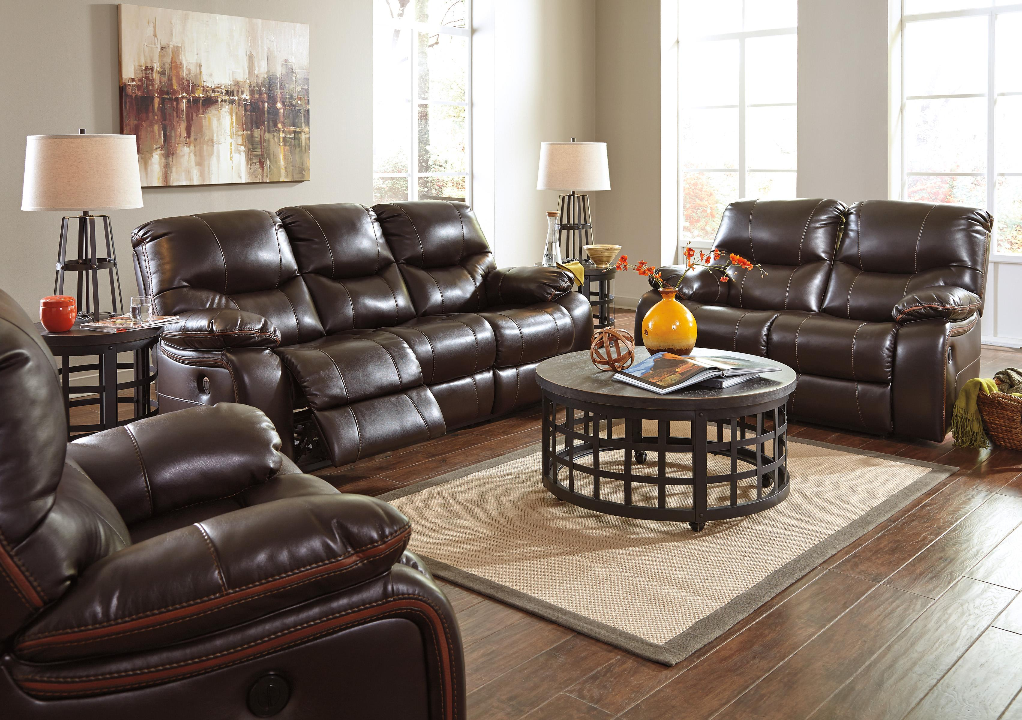 Signature Design By Ashley Pranas Reclining Living Room Group Value City Furniture Reclining