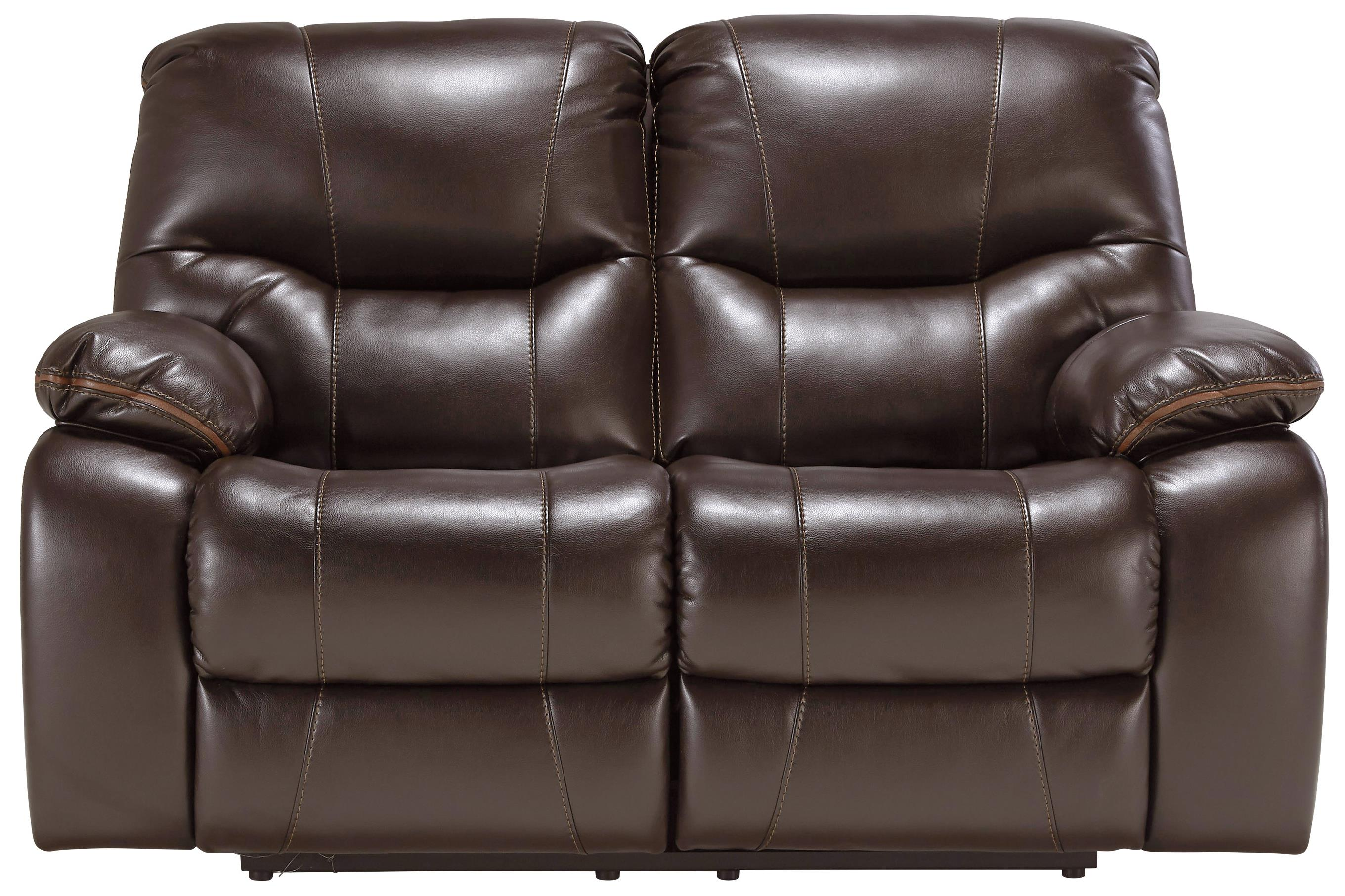 Signature Design by Ashley Pranas Reclining Power Loveseat - Item Number: 4790074