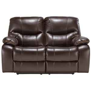 Signature Design by Ashley Pranas Reclining Power Loveseat
