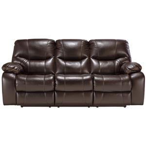 Signature Design by Ashley Pranas Reclining Power Sofa