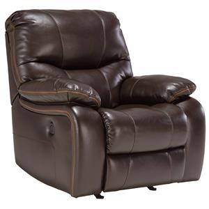 Signature Design by Ashley Pranas Power Rocker Recliner