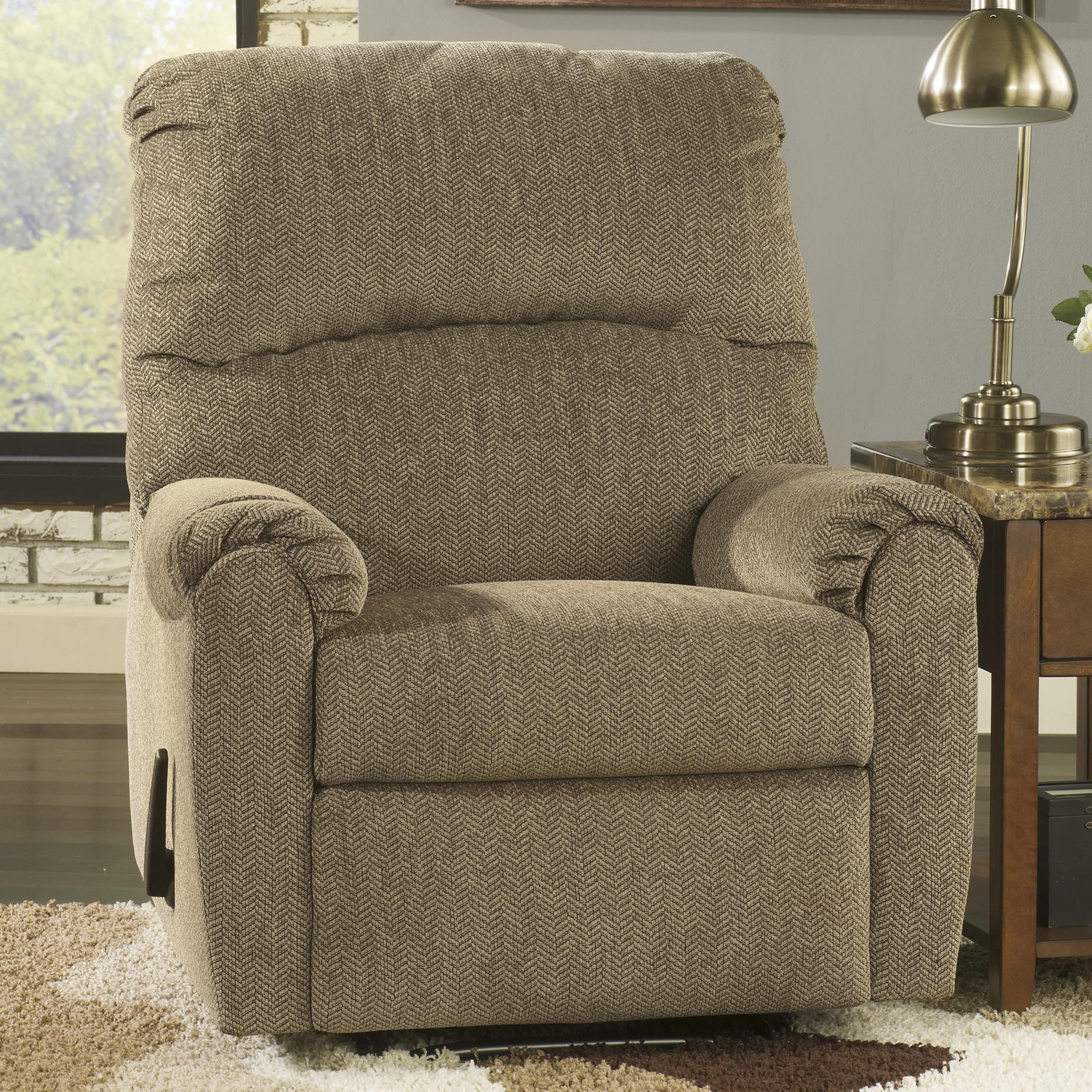 Signature Design by Ashley Pranit - Cork Zero Wall Recliner - Item Number: 1610129
