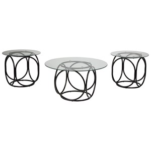 Signature Design by Ashley Quassey Occasional Table Set