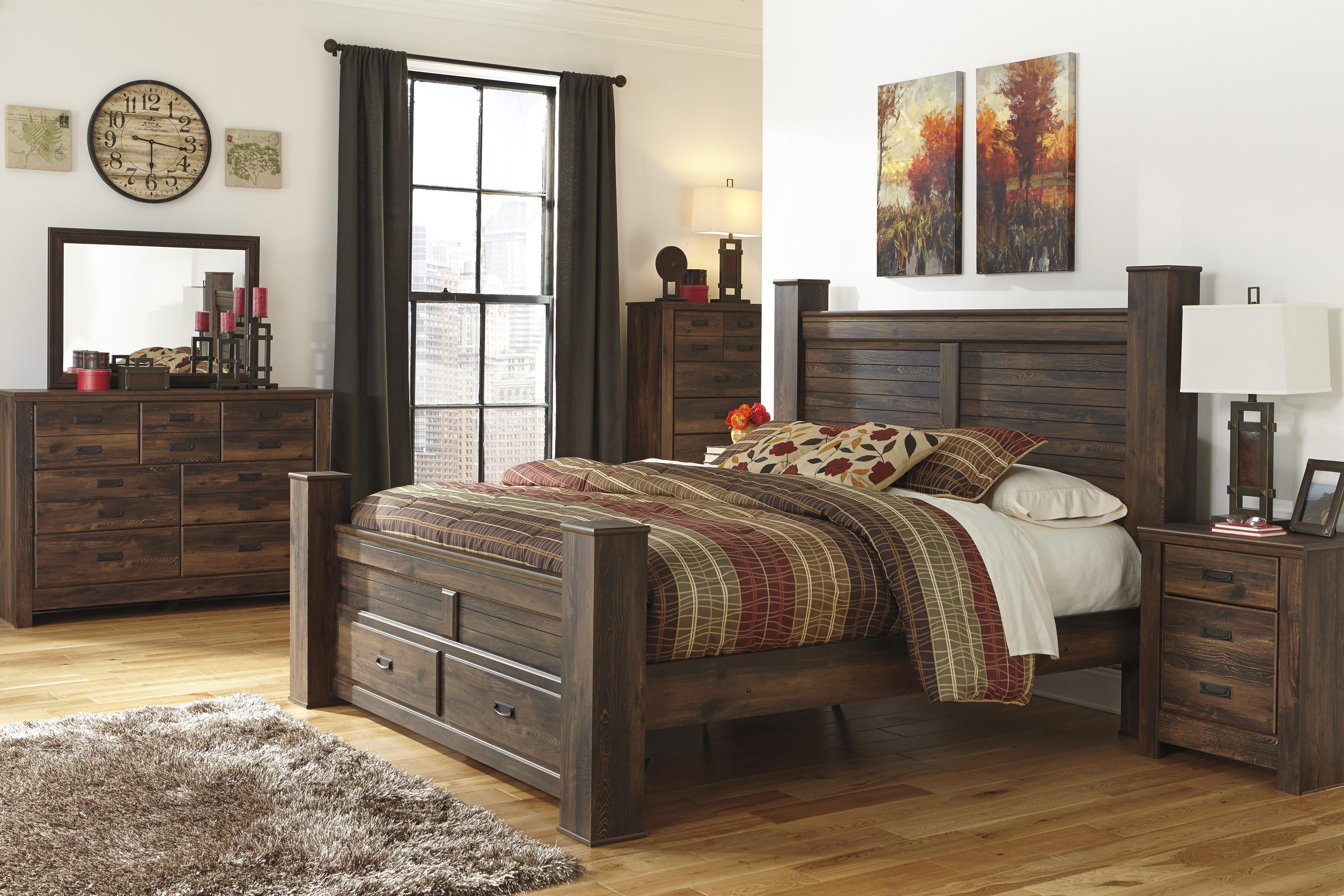 Signature Design by Ashley Quinden King Bedroom Group - Item Number: B246 K Bedroom Group 3