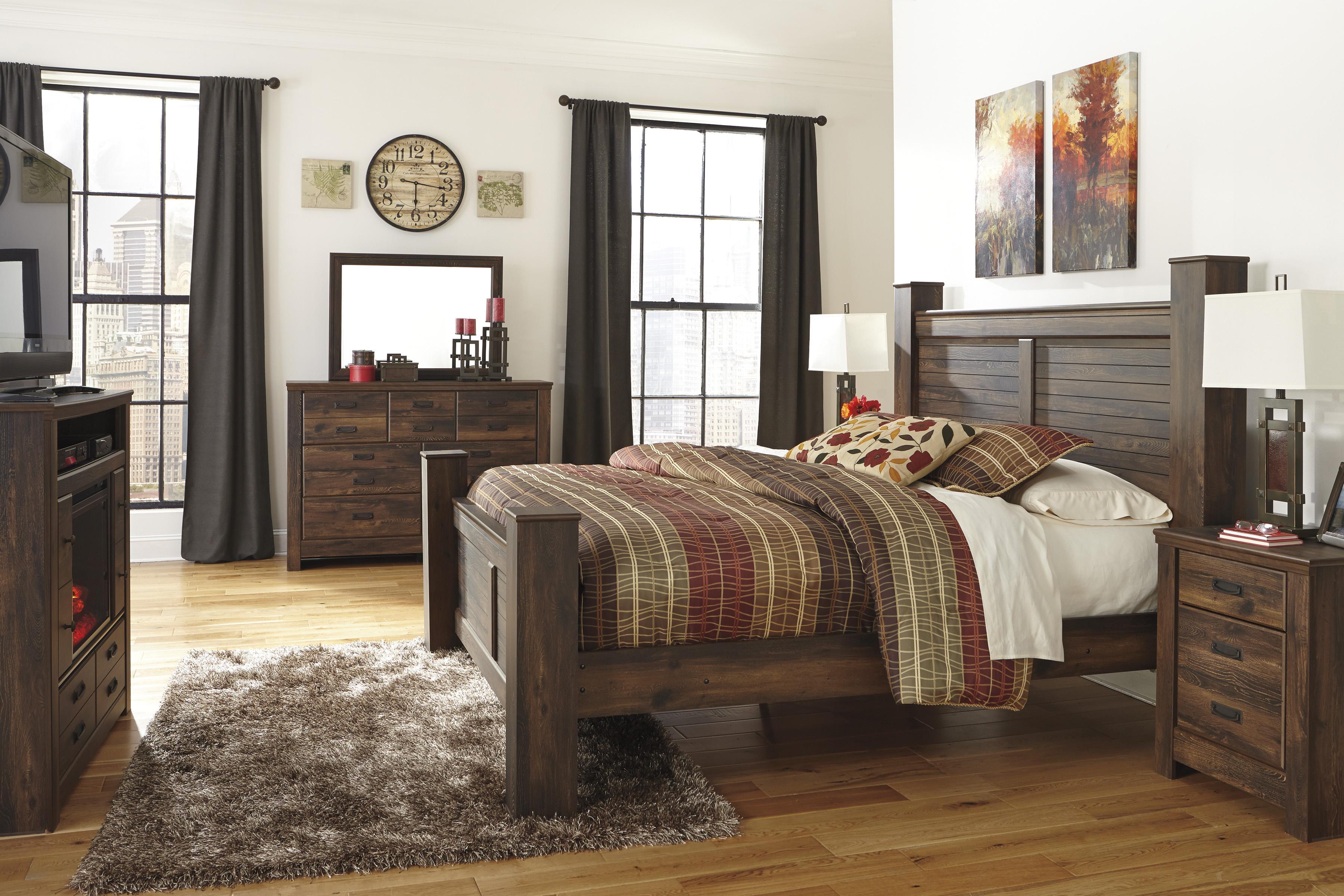 Signature Design by Ashley Quinden King Bedroom Group - Item Number: B246 K Bedroom Group 6
