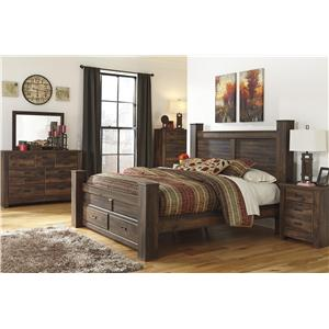 Signature Design by Ashley Quinden 4 PC King Bedroom